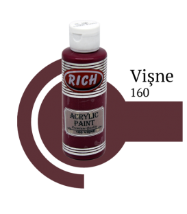 Rich 160 Vişne 130 ml Akrilik Boya