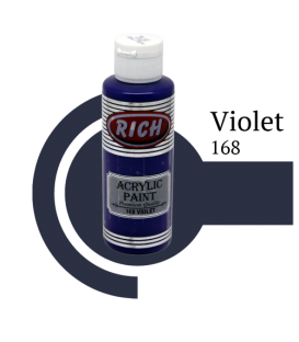 Rich 168 Violet 130 ml Akrilik Boya