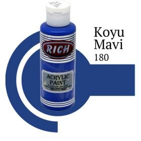 Rich 180 Koyu Mavi 130 ml Ahşap Boyası
