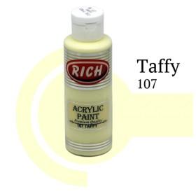 Rich 107 Taffy 130 ml Akrilik Boya