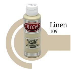Rich 109 Linen 130 ml Akrilik Boya