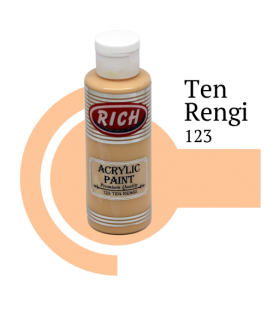 Rich 123 Ten Rengi 130 ml Akrilik Boya