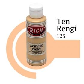 Rich 123 Ten Rengi 130 ml Ahşap Boyası