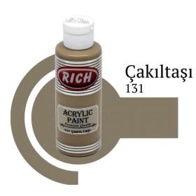 Rich 131 Çakıl Taşı 130 ml Akrilik Boya