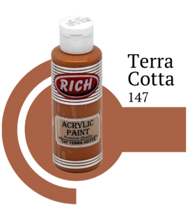 Rich 147 Terra Cotta 130 ml Akrilik Boyası
