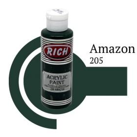 Rich 205 Amazon 130 ml Ahşap Boyası