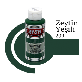Rich 209 Zeytin Yeşili 130 ml Ahşap Boyası