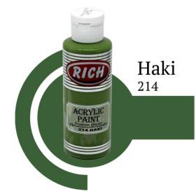 Rich 214 Haki 130 ml Akrilik Boyası