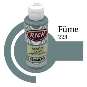 Rich 228 Füme 130 ml Ahşap Boyası
