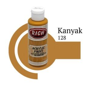 Rich 128 Kanyak 130 ml Akrilik Boya