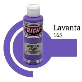 Rich 165 Lavanta 130 ml Akrilik Boyası