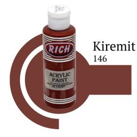 Rich 146 Kiremit 130 ml Ahşap Boyası