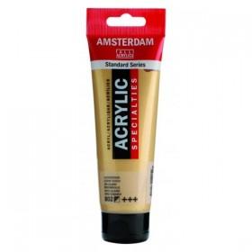 Talens Amsterdam Akrilik Boya 120 ml. 802 Light Gold (Metalik)