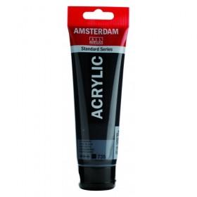 Talens Amsterdam Akrilik Boya 120 ml. 735 Oxide Black