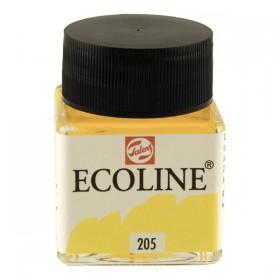 Talens Ecoline 205 Lemon Sıvı Suluboya 30 ml