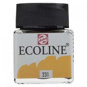 Talens Ecoline 231 Gold Sıvı Suluboya 30 ml
