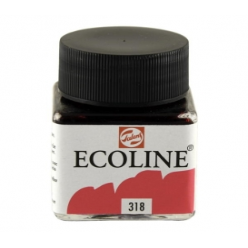 Talens Ecoline 318 Carmine Sıvı Suluboya 30 ml