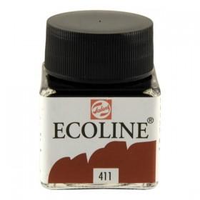 Talens Ecoline 411 Burnt Sienna Sıvı Suluboya 30 ml