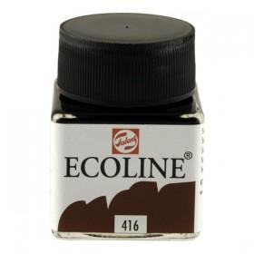 Talens Ecoline 416 Sepia Sıvı Suluboya 30 ml