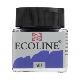 Talens Ecoline 507 Ultramarine Violet Sıvı Suluboya 30 ml