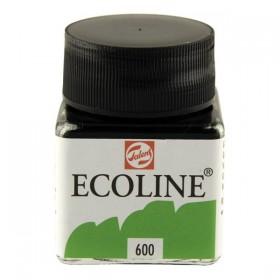 Talens Ecoline 600 Green Sıvı Suluboya 30 ml