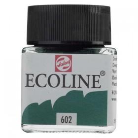 Talens Ecoline 602 Deep Green Sıvı Suluboya 30 ml