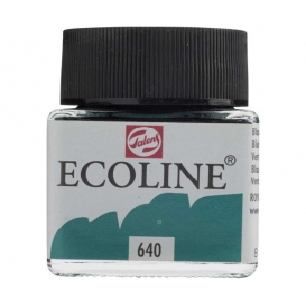 Talens Ecoline 640 Bluish Green Sıvı Suluboya 30 ml
