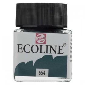 Talens Ecoline 654 Fir Green Sıvı Suluboya 30 ml