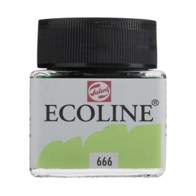 Talens Ecoline 666 Pastel Green Sıvı Suluboya 30 ml