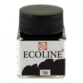 Talens Ecoline 700 Black Sıvı Suluboya 30 ml