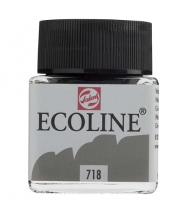 Talens Ecoline 718 Warm Grey Sıvı Suluboya 30 ml