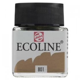 Talens Ecoline 801 Gold Sıvı Suluboya 30 ml