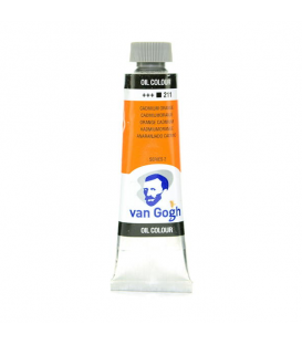 Talens Van Gogh Yağlı Boya 40 ml. 211 Cadmium Orange