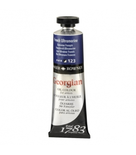 Daler Rowney Georgian Yağlı Boya 123 French Ultramarine 38ml