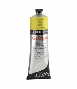 Daler Rowney Georgian Yağlı Boya 651 Lemon Yellow