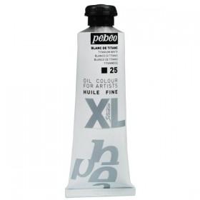 Pebeo 25 Titanium White Huile Fine XL Studio 37 ml