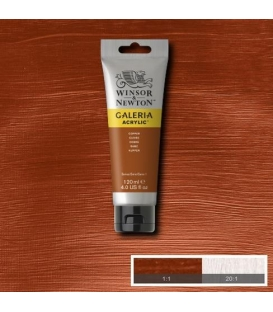 Winsor & Newton Galeria Akrilik Boya 120 ml. 214 Metallic Copper