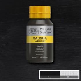 Winsor&Newton Galeria Akrilik Boya 500ml.  331 Ivory Black