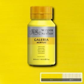 Winsor&Newton Galeria Akrilik Boya 500ml.  346 Lemon Yellow