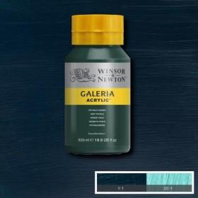 Winsor&Newton Galeria Akrilik Boya 500ml. 522 Phthalo Green
