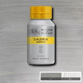 Winsor&Newton Galeria Akrilik Boya 500ml. 617 Metallic Silver
