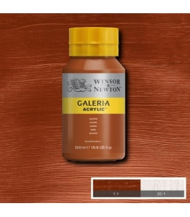 Winsor&Newton Galeria Akrilik Boya 500ml. 214 Metallic Copper