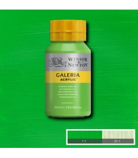 Winsor & Newton Galeria Akrilik Boya 500ml. 483 Permanent Green Light