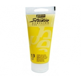 Pebeo Studio Akrilik Boya 100ml. 13 Light Azo Yellow
