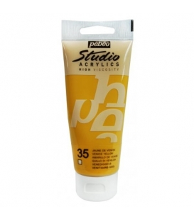Pebeo Studio Akrilik Boya 100ml. 35 Venice Yellow