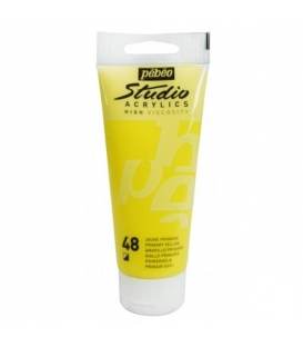 Pebeo Studio Akrilik Boya 100ml. 48 Primary Yellow