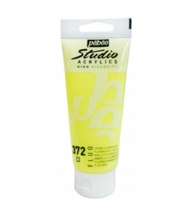Pebeo Studio Akrilik Boya 100ml. 372 Fluorescent Yellow
