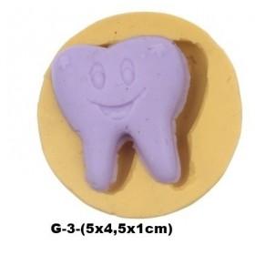 Silikon Kalıp Gülen Diş G-3