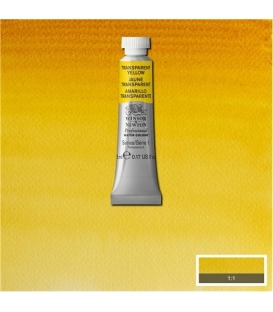 653 Transparent Yellow Winsor & Newton Artists Sulu Boya 5 ml