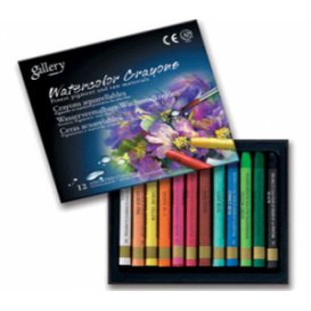 Mungyo Gallery Aquarell Crayon Suda Çözünen Pastel Boya 12 Renk